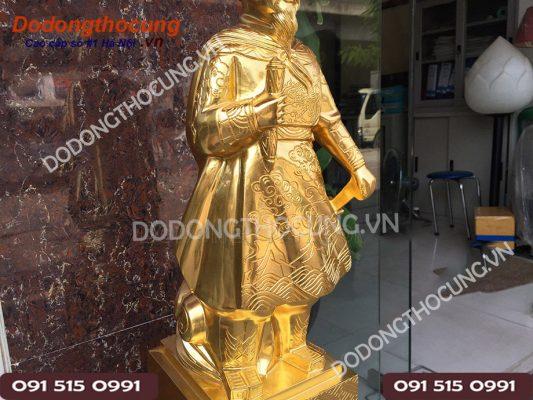 Tuong Tran Quoc Tuan Thep Vang 68cm (7)