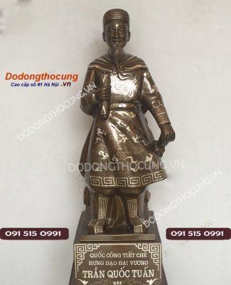 Tuong Tran Quoc Tuan Tuyet Dep Cao 70cm