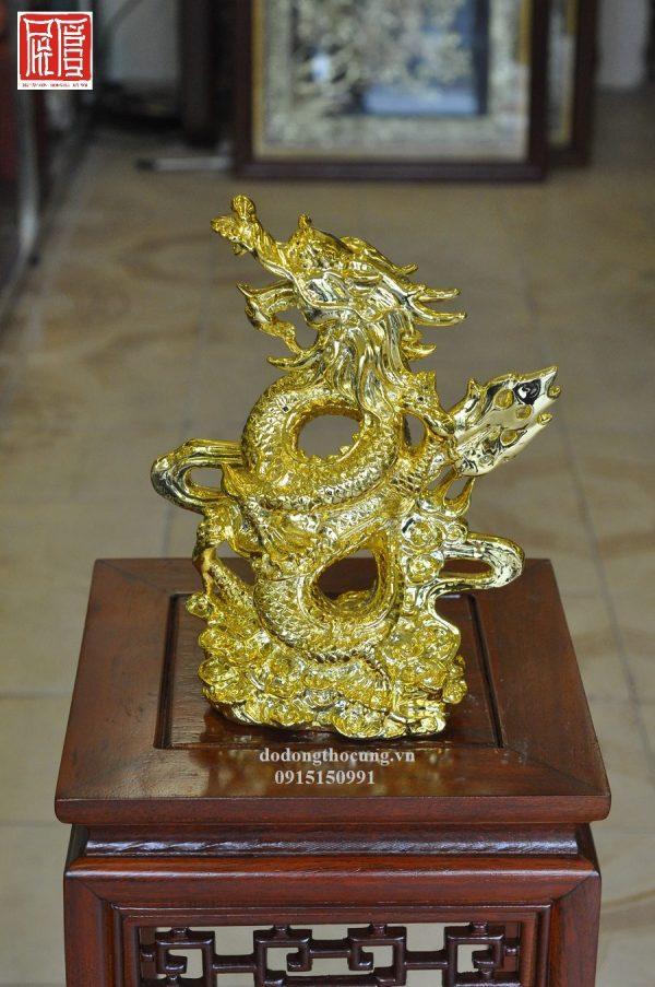 Tượng Rồng Mạ Vàng (2)