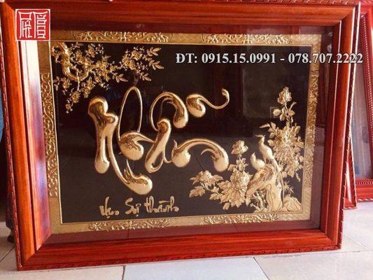 Tranh Chu Nhan Dep
