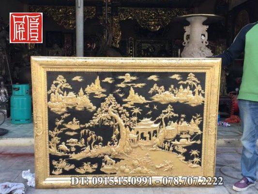 Tranh Phong Canh Ma Vang 2