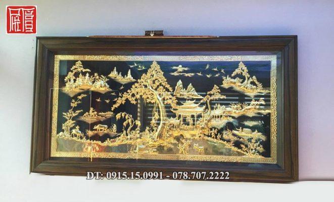 Tranh Phong Canh Ma Vang 3
