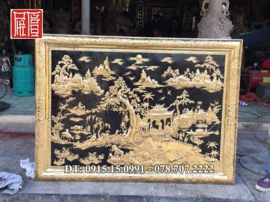 Tranh Phong Canh Ma Vang Min